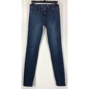 American Eagle stretch jegging blue jeans 7947